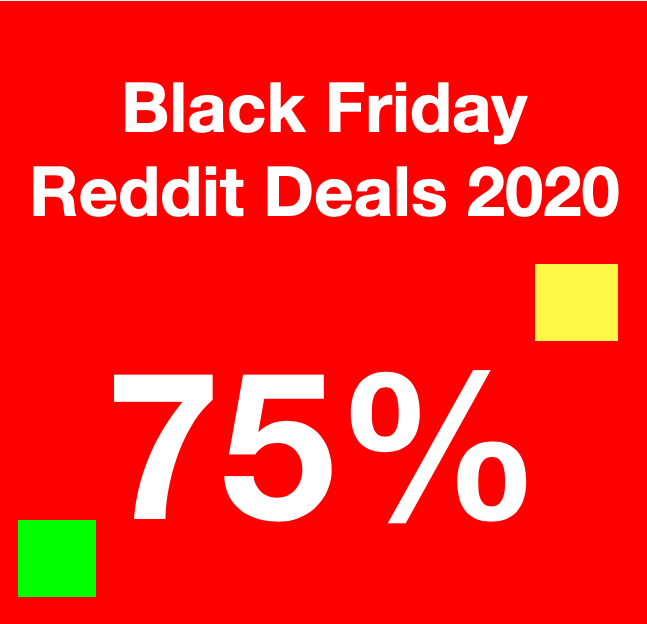 Best Black Friday 2020 Reddit deals