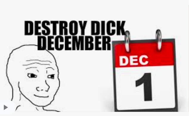 DDD Challenge · Destroy Dick December
